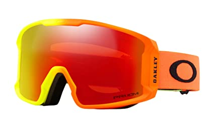 849d5a86b8e5 Image Unavailable. Image not available for. Color  Oakley Line Miner XM Snow  Goggles Harmony Fade with Prizm Torch Iridium Lens