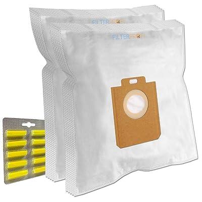 TOP SET - 10 Sacs Aspirateur (Microfibre) + 10 Parfums + 1 Filtre Pour AEG-Electrolux UltraOne Z8822gp