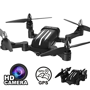 LXWM RC Brushless Quadcopter con 1080P HD Cámara RC Helicóptero ...