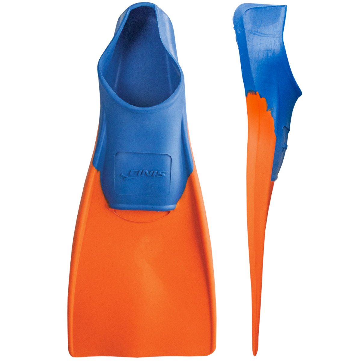 Finis Long Floating Fin Jr. 11-1 - Aletas infantiles, color azul/