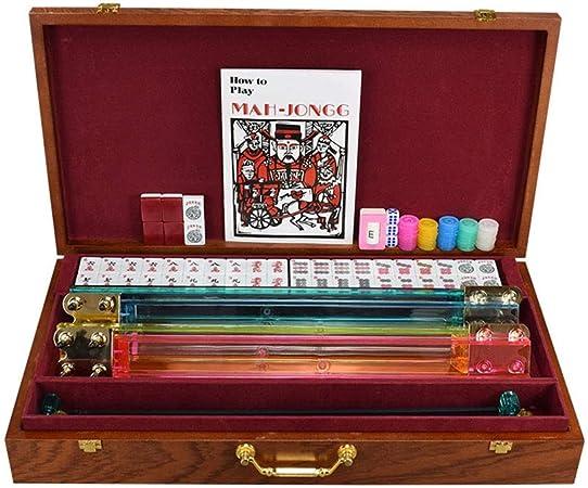Z Toy Set Traditionnel Jeu Adulte Jouet Americain Mah Jong 166