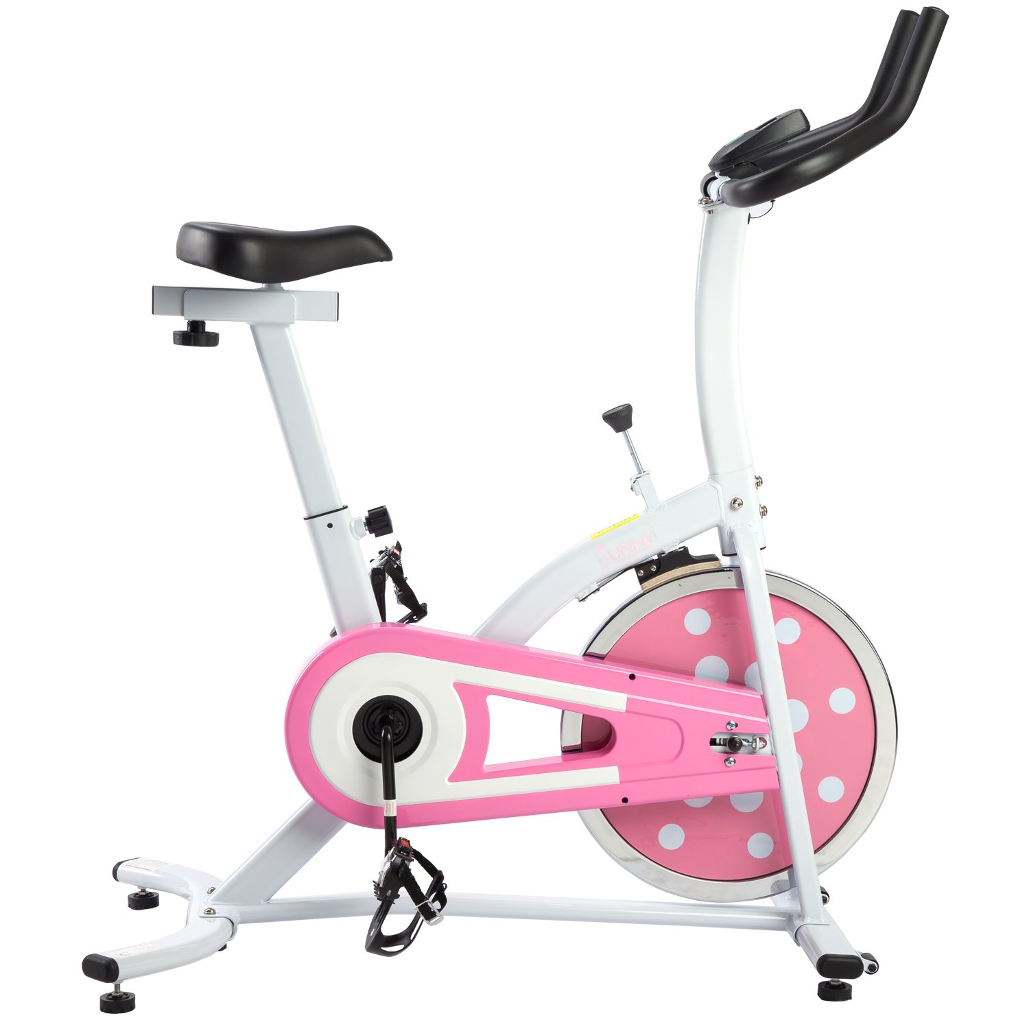 Sunny Health and Fitness Indoor Cycling Bike (Pink
