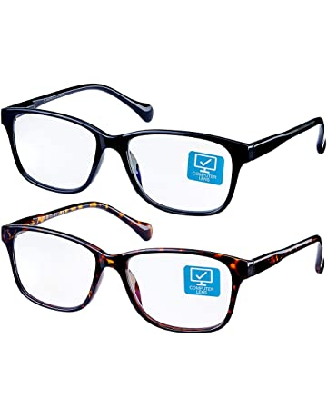 41c9009f4a0 K KENZHOU Blue Light Blocking Computer Glasses 2 Pack Anti Eye Eyestrain  Unisex(Men