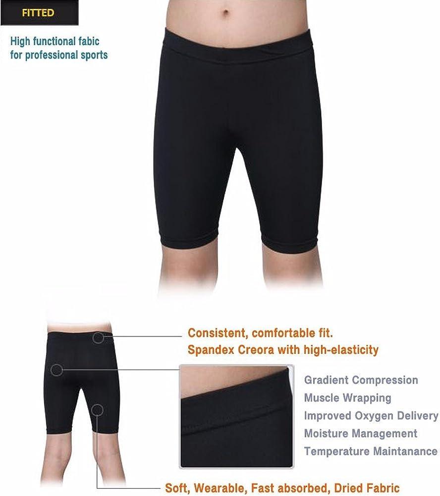 Henri maurice Kids Compression Shorts Underwear Youth Boys Spandex Base Layer Bottom Pants FK: Clothing