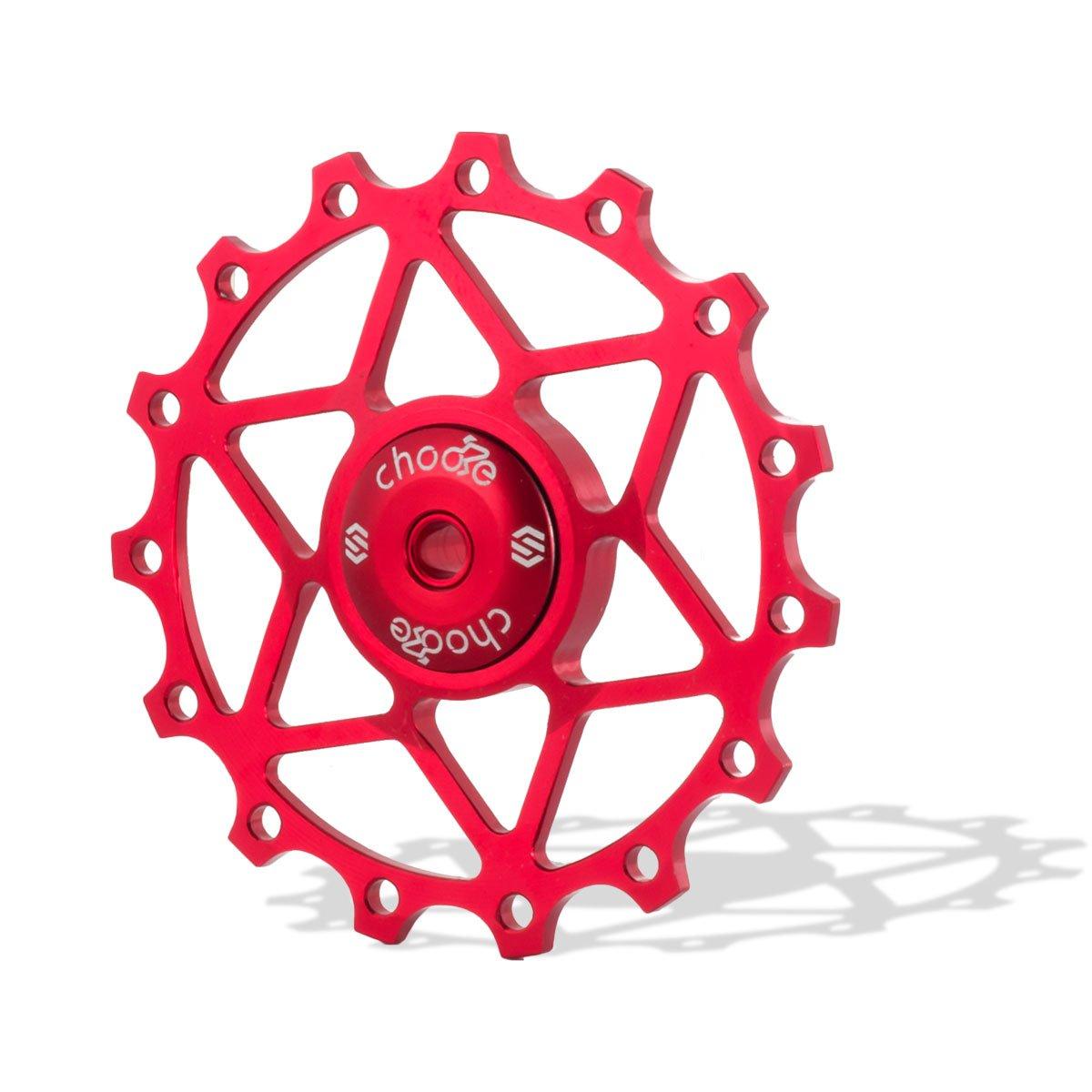 Chooee, Stützrad, Keramiklager, Schaltwerk, Riemenscheibe für Shimano Sram, 13T 15T ShenZhen Freeman Fahrrad co. Ltd.