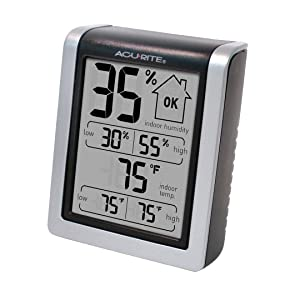 AcuRite® Indoor Temperature and Humidity Monitor 00613