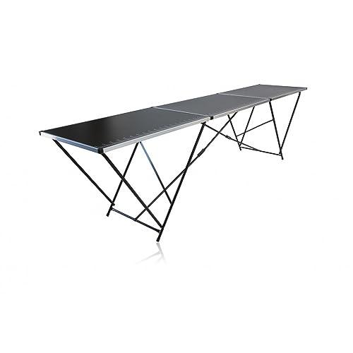 MESA de empapelar MESA de Trabajo Mesa Plegable Mesa Para Fiesta Mesa multifuncional 300 x 60cm