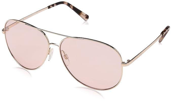 846ff0387ea5 MICHAEL KORS 5016 KENDALL 1026/5 60 Rectangular Sunglasses 60, Shiny Rose  Gold -