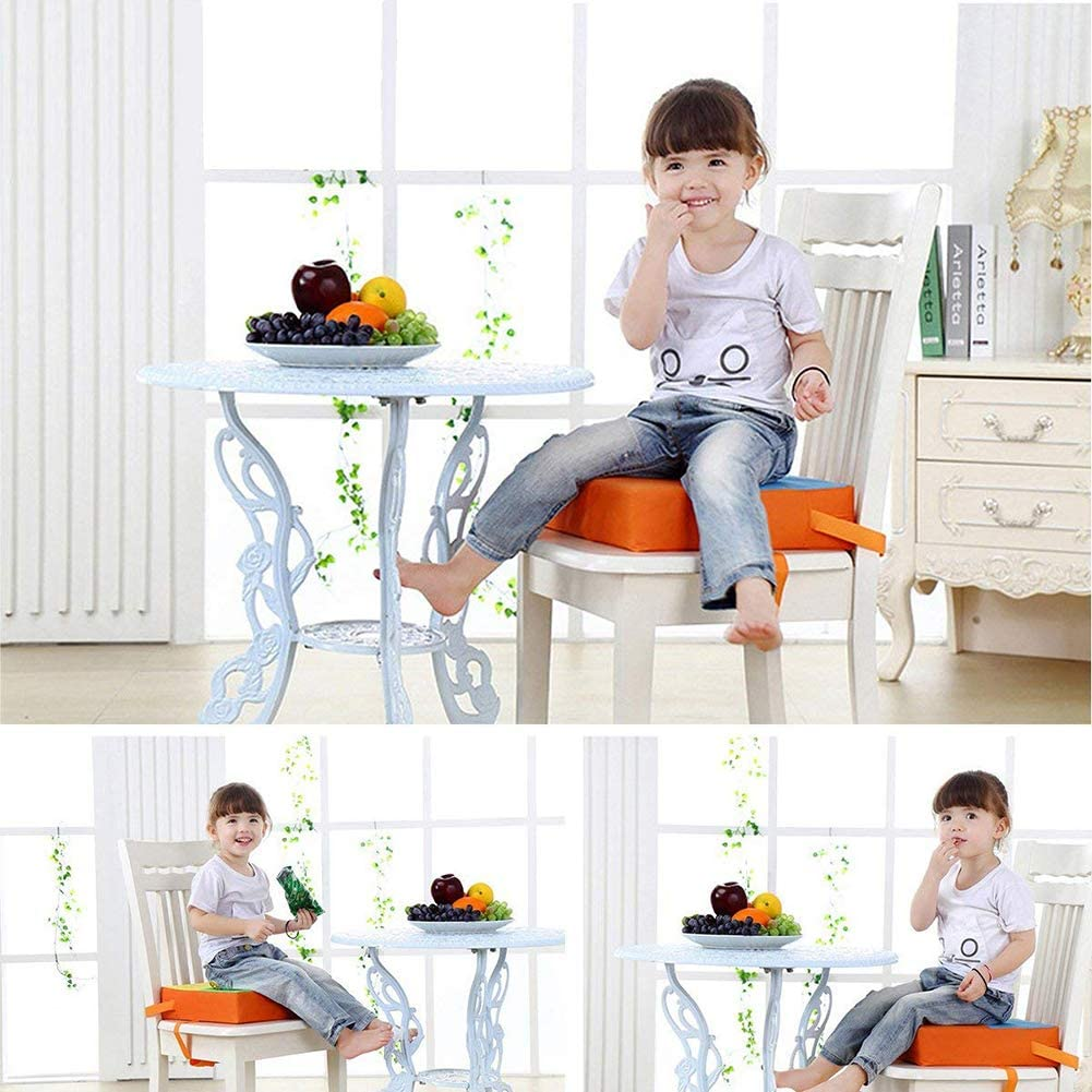 Demarkt Baby Kids Children Dining Chair Booster Cushion Seats Portable Adjustable Dismountable Dining Chair Increase Pad