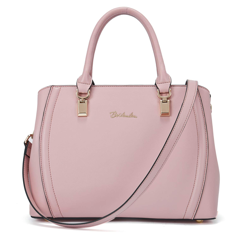 CDM product BOSTANTEN Women Leather Handbag Designer Tote Purses Top-handle Shoulder Crossbody Bag big image