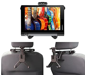 reputable site 86297 d6f19 Navitech In Car Back Seat Headrest Mount For The Lenovo Yoga Tab 3 8-inch