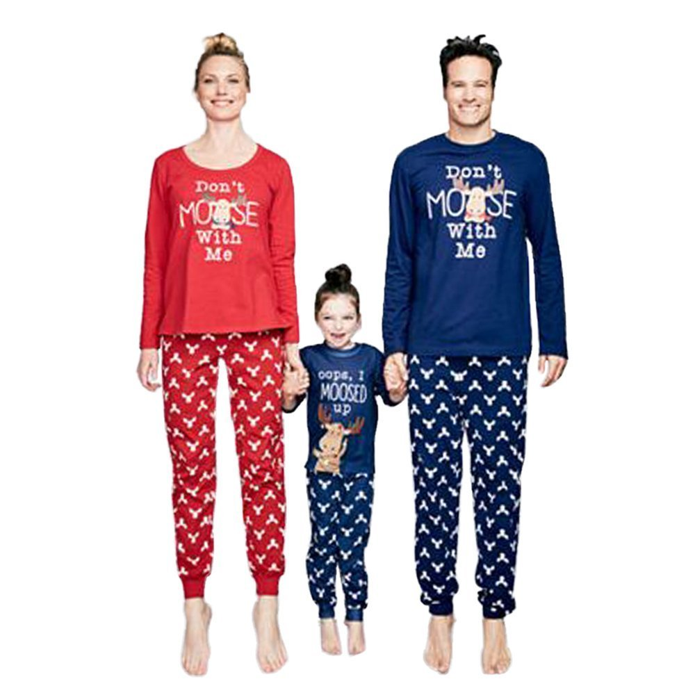 c7e7b6b53b2 Amazon.com   WensLTD Matching Family Pjs XMAS Gift Pajamas 2 Pics Sets for  Mum Dad Kids   Sports   Outdoors