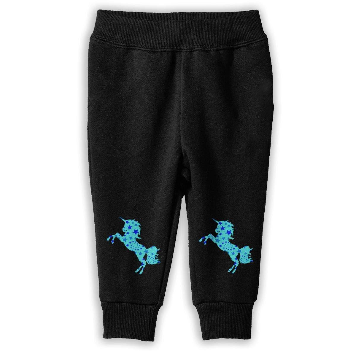 Kids Fleece Pants lu fangfangc Galaxy Unicorn Sweatpants