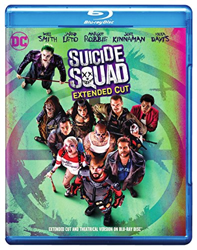 Suicide Squad  Extended Cut Blu Ray   Dvd   Digital Hd Ultraviolet Combo Pack