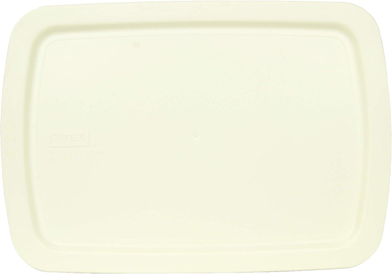 Pyrex C-233-PC 3 Quart Cream White 9