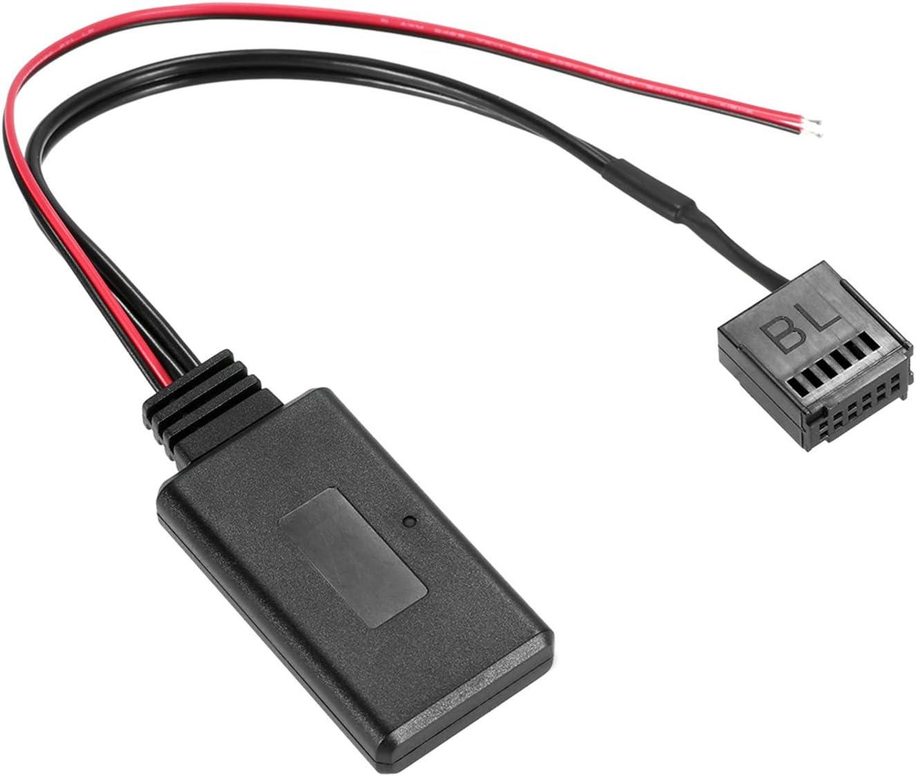 Lechnical Coche Adaptador de Radio AUX-IN Cable inal/ámbrico BT M/ódulo de reemplazo para Ford Focus Mondeo 6000 CD