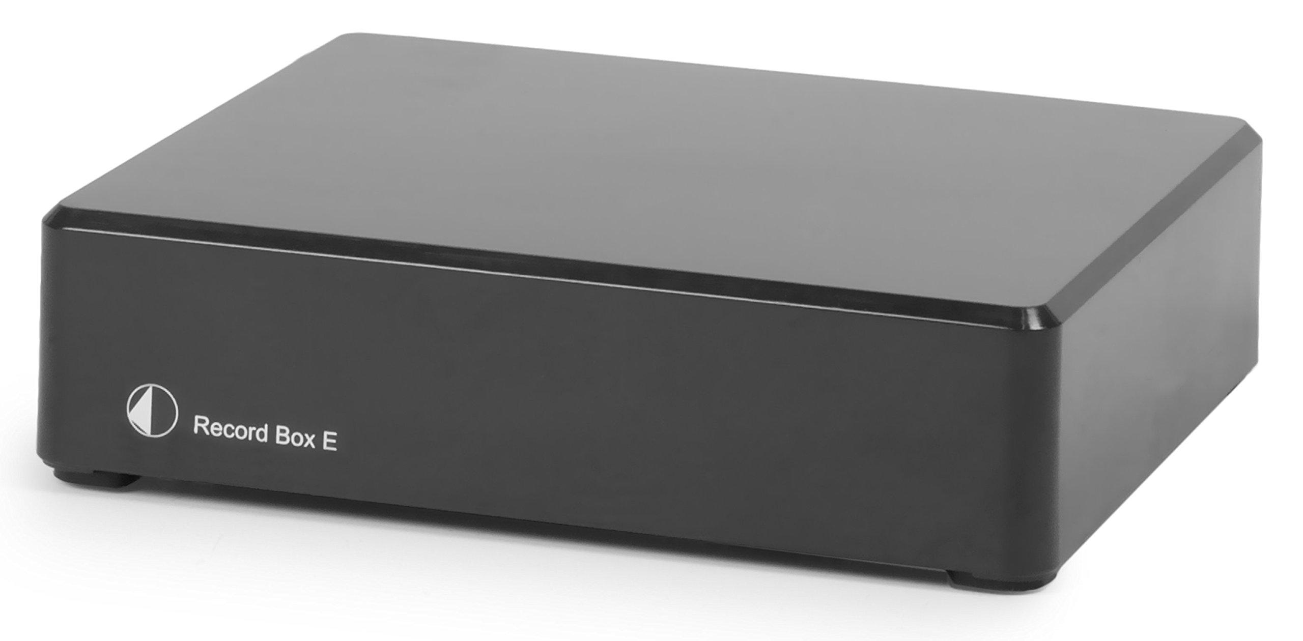 Pro-Ject Record Box E USB Phonograph Preamplifier (Black)