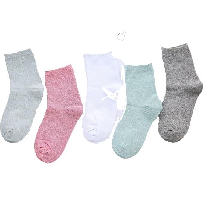 Calcetines (10 Pares De Equipo) Calcetines De Colores De Caramelo Calcetines De Algodón Calcetines