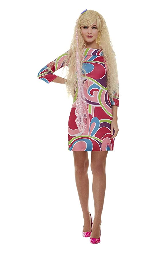 Smiffys-Smiffys Officially Licensed Totally Hair Barbie Costume ...