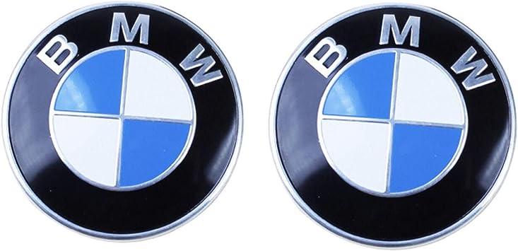 2 Grommets for ALL Models B BMW Hood roundel emblem logo replacement hood 82mm