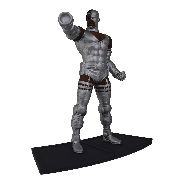 9 Scale Polystone Statue Icon Heroes AUG188619 Dc Teen Titans Multicolor Cyborg 1
