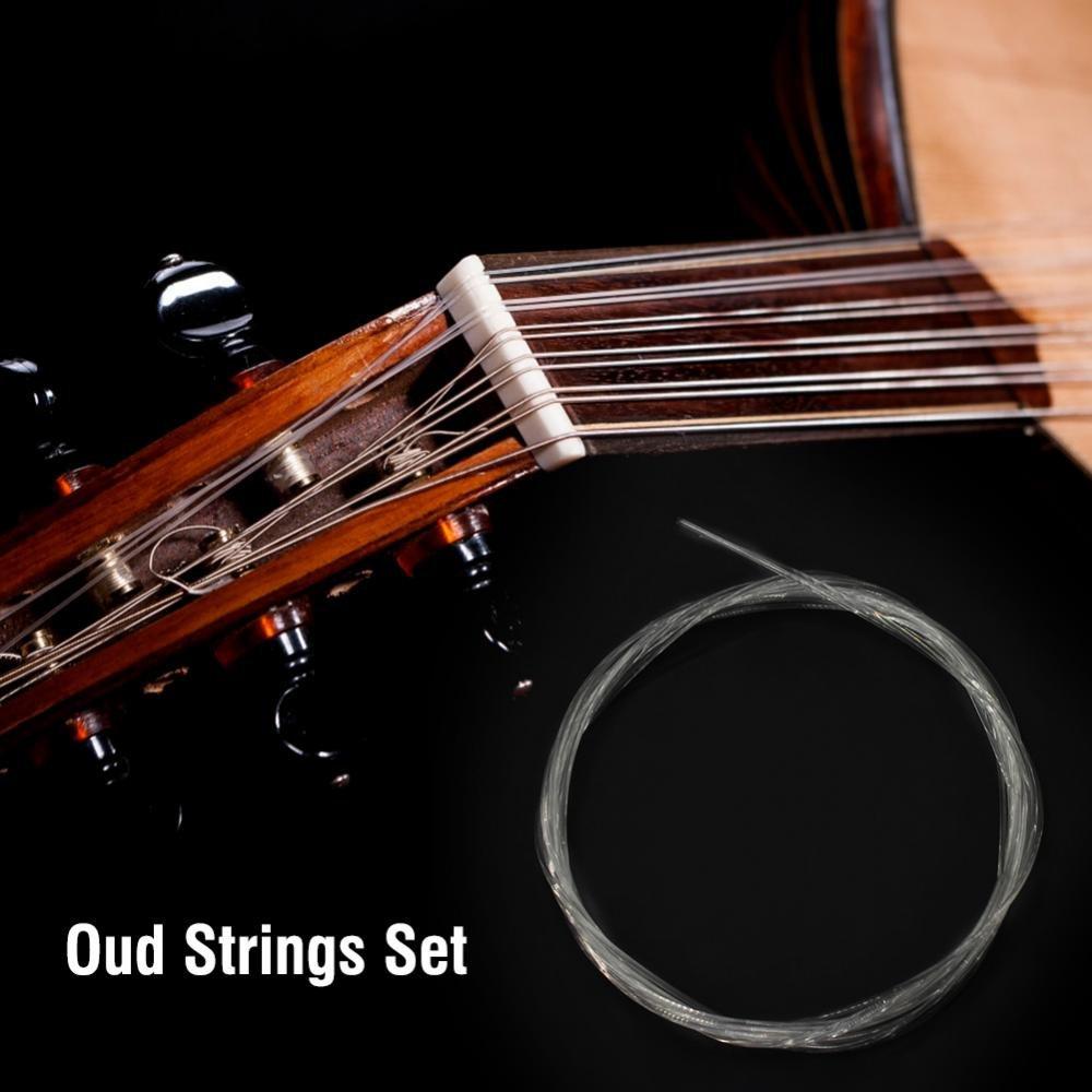 Alomejor Oud Strings set 10//11//12/corde in nylon resistente in lega di rame placcato Oud corde di ricambio per chitarra ukulele