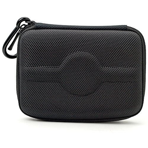 CubeGPS43BLK Nylon Cube GPS Carrying Case with Carabineer Fits 4.3-Inch Display GPS's - Garmin Case Nylon Gps