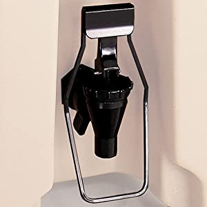 Cambro LCDES110 Black Easy Serve Dispenser for LCD and UC Spigots