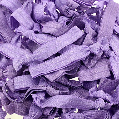100 pack no crease hair ties - 3