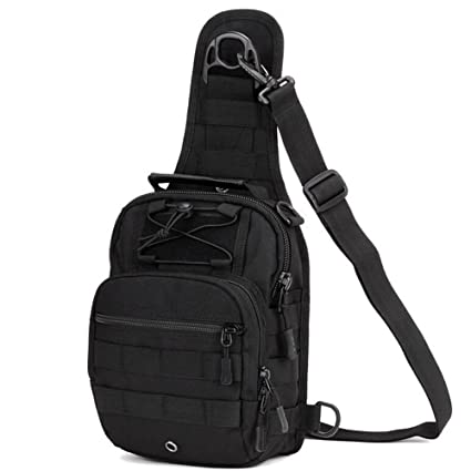 CREATOR Crossbody Single Shoulder Bag Multifunctional Traveling Bag - 4  Styles Military Sling Shoulder Backpack Chest Pack Outdoor Satchel Crossbody  Bag for ... e4e9a038d929c