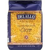 DeLallo Corn & Rice Orzo Pasta 12.0 OZ(Pack of 1)
