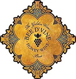 2013 Bee d\'Vine Brut Honey Wine (aka Mead or Tej) 375 mL