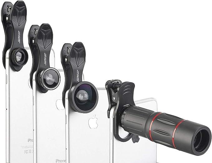 Somikon Handy Objektiv 11 Teiliges Elektronik