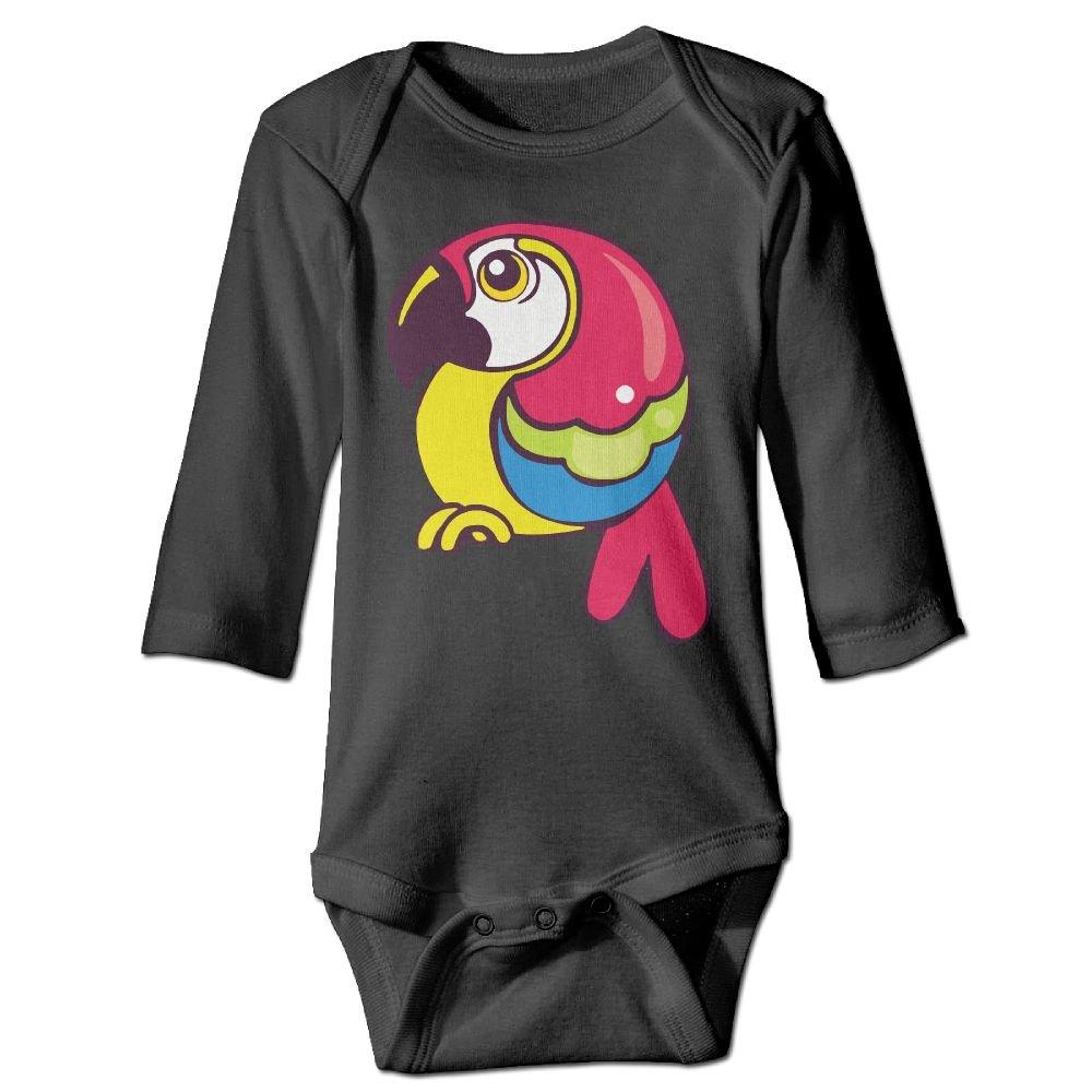 Midbeauty Chubby Parrot Newborn Cotton Jumpsuit Romper Bodysuit Onesies Infant Boy Girl Clothes