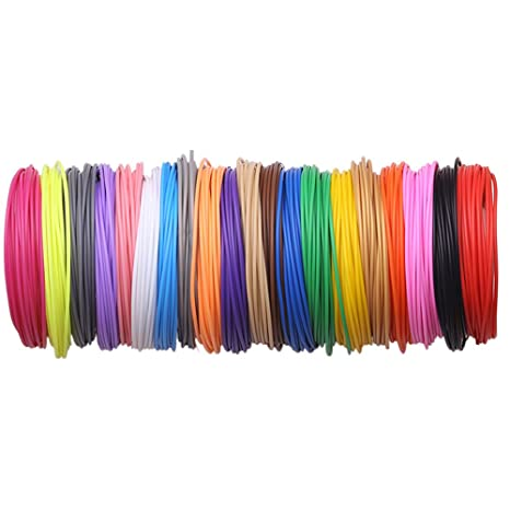 PCL Filamento para impresora 3D Pen 1,75 mm 20 colores: Amazon.es ...