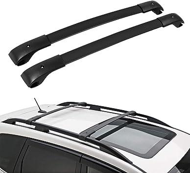 alavente roof rack cross bars compatible with subaru crosstrek 2013 2017 w top side rail e361sfj100 luggage carrier top rail rack compatible with