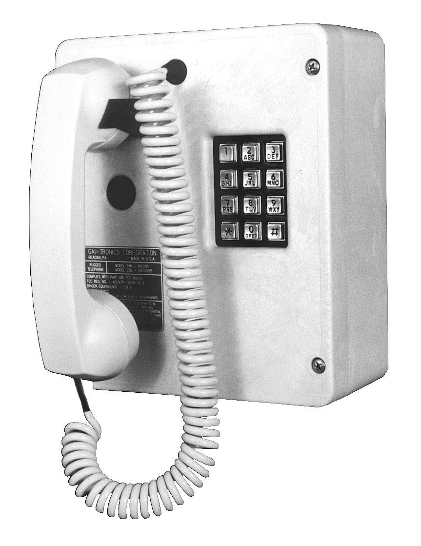 Gai-Tronics Telephone, Industrial Indoor, Single Line - 246-001 by Gai-Tronics (Image #1)