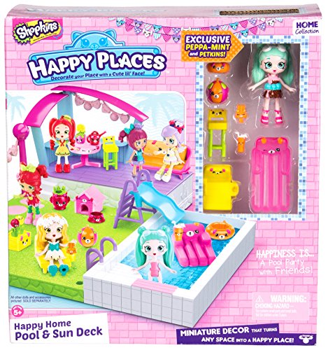 FAST TRACK HAPPY PLACES SHOPKINS POOL PLAYSET