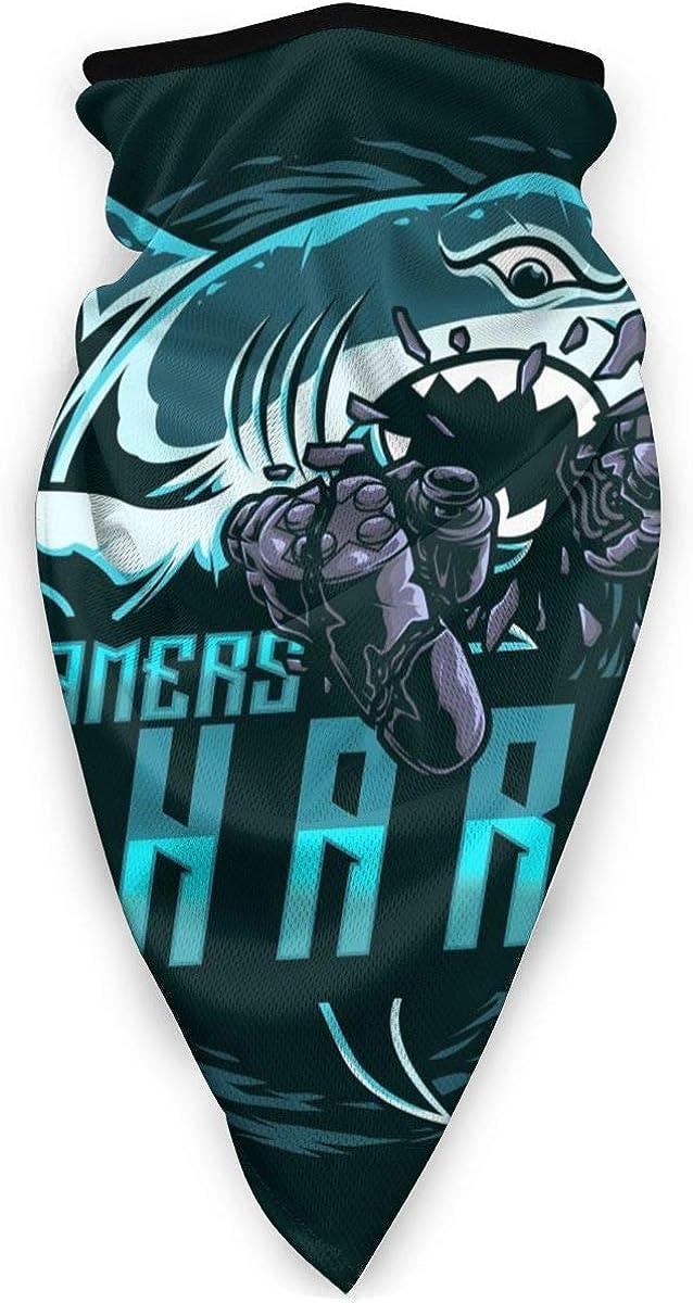 Shark Design Mascot Logo Windproof Sports Ma-sk Men & Women Ski Face Cover Bandanas