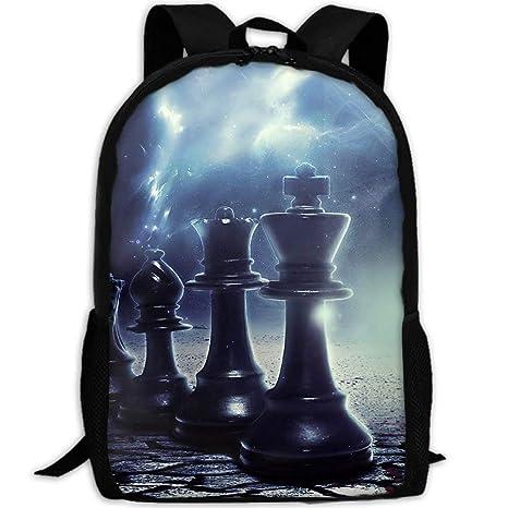 5db247e2f40 Amazon.com  Adult Travel Hiking Laptop Backpack Chess Digital Pattern School  Office Multipurpose Zipper Bags Fashion Durable Daypacks  HuaXuAgr