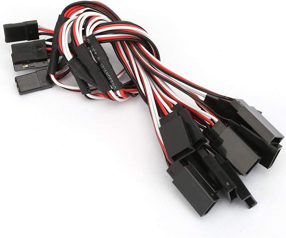 Y Shape Lead Cable Accessory Extension Terminal Servo Wire for RC VGEBY1 6PCS Servo Wire