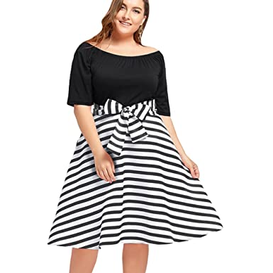 Plus Size Casual Dress Ibovnathandedecker