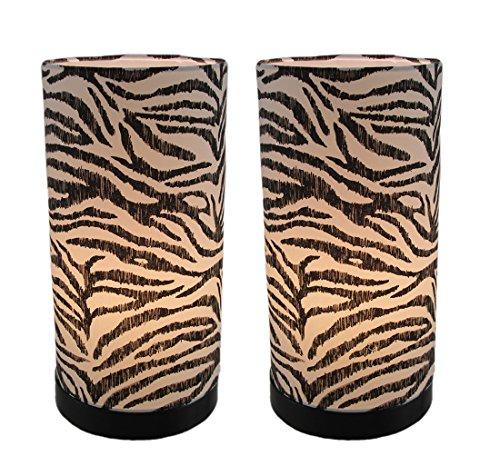 Zebra Stripe Lamp - 8