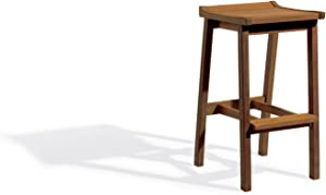 Oxford Garden Dartmoor Shorea Bar Stool, Brown Umber
