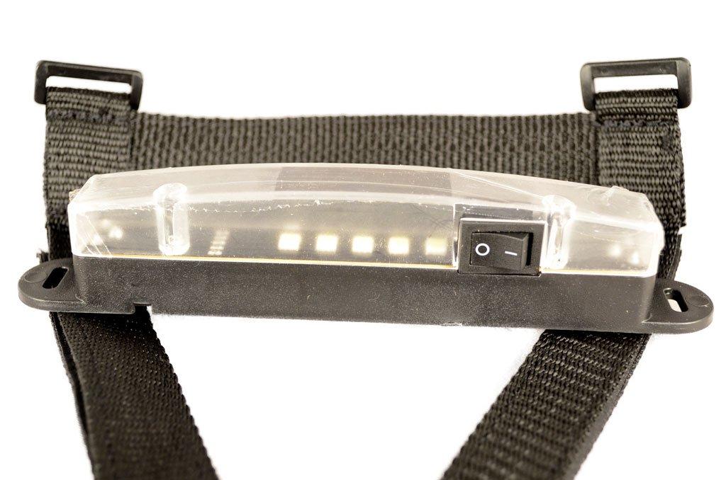 LED Superbright Utility Light Mounts on Roll Bars for All Models of Jeep CJ All Models 1955-1986