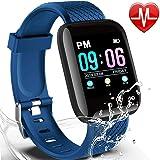 Amazon.com: HAMSWAN MX9 ECG Smart Watch Blood Pressure PPG ...