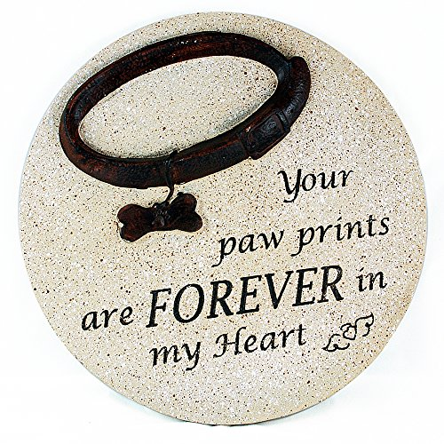 Gerson Your Paw Prints are Forever in My Heart Dog Memorial ()