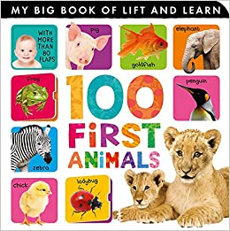 100 First Animals (My Big Book of Lift and Learn): Tiger