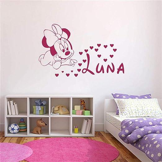 etiqueta de la pared decoración Mickey Mouse Etiqueta de la pared ...