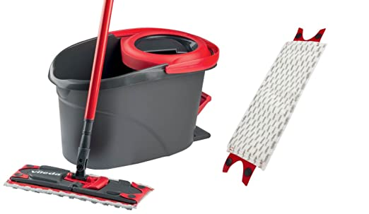 Vileda Ersatzbezug Easywring Clean Wischmop Ersatz Mop Bodenwischer